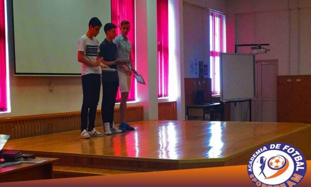 Sportivii Academiei de Fotbal Sport Team obţin performanţă şi în afara terenului de fotbal!